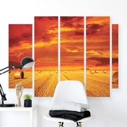 Meadows & Countryside Canvas Photo Print