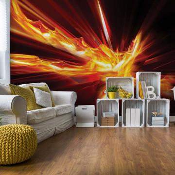 Modern 3D Energy Photo Wallpaper Wall Mural