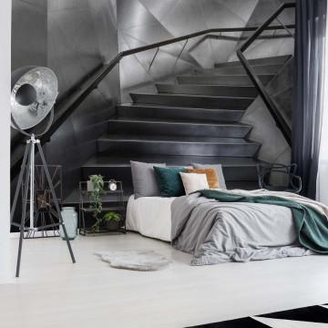 Modern Staircase Photo Wallpaper Mural