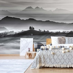 Morning Rays Photo Wallpaper Mural