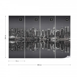 New York Reflections in Black & White