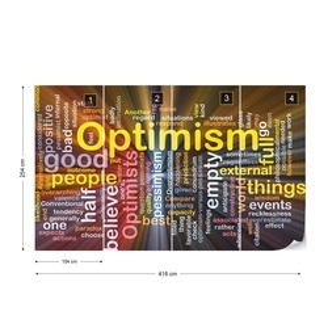 Optimism Photo Wallpaper Wall Mural