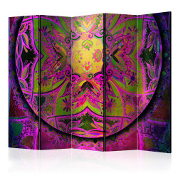 Paravan - Mandala: Pink Expression II [Room Dividers]