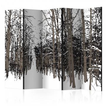 Paravan - trees - autumn II [Room Dividers]