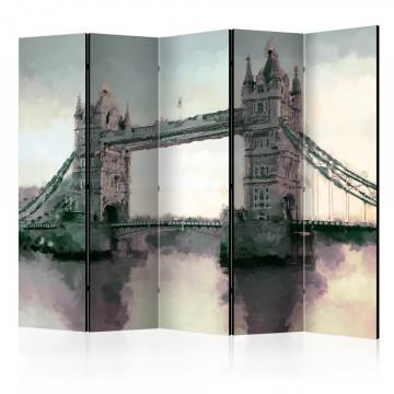 Paravan - Victorian Tower Bridge II [Room Dividers]