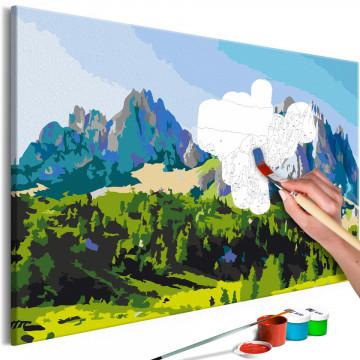 Pictatul pentru recreere - Dolomite Peaks