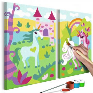 Pictatul pentru recreere - Fairytale Unicorns