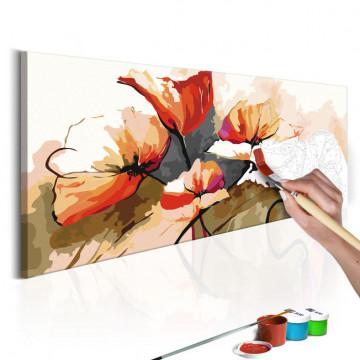 Pictatul pentru recreere - Flowers - Delicate Poppies