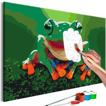 Pictatul pentru recreere - Laughing Frog