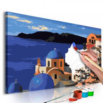 Pictatul pentru recreere - Santorini