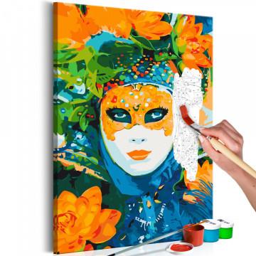 Pictatul pentru recreere - Venetian Mask