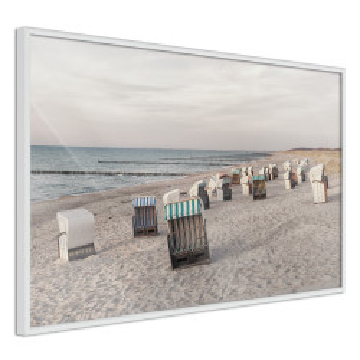 Poster - Baltic Beach Chairs