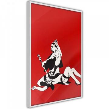Poster - Banksy: Queen Victoria