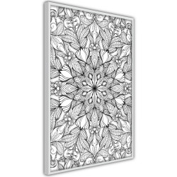 Poster - Colourless Mandala