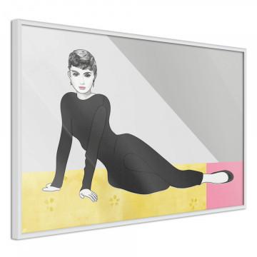 Poster - Elegant Audrey