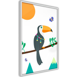 Poster - Fairy-Tale Toucan