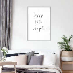Poster - Simple Life