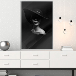 Poster - Woman in a Hat