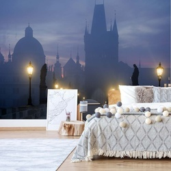 Prague Is Awakening Photo Wallpaper Mural