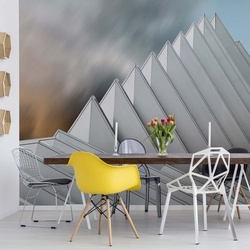 Pyramid Lille Photo Wallpaper Mural