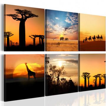 Tablou - African sceneries