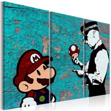 Tablou - Banksy: Cracked Paint