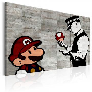 Tablou - Banksy on Concrete