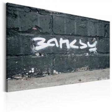 Tablou - Banksy Signature