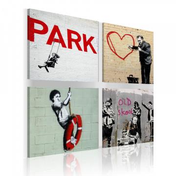 Tablou - Banksy - urban inspiration