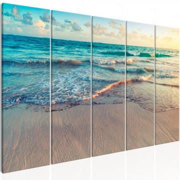 Tablou - Beach in Punta Cana (5 Parts) Narrow
