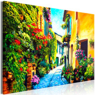 Tablou - Beautiful Street (1 Part) Wide