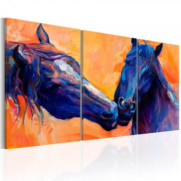 Tablou - Blue Horses