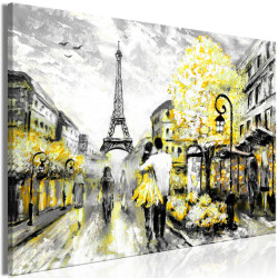 Tablou - Colourful Rendez-Vous (1 Part) Wide Yellow