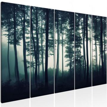 Tablou - Dark Forest (5 Parts) Narrow