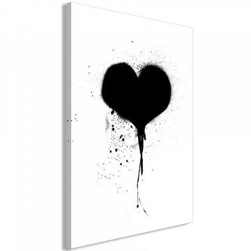 Tablou - Destroyed Heart (1 Part) Vertical