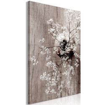 Tablou - Dried Flowers (1 Part) Vertical