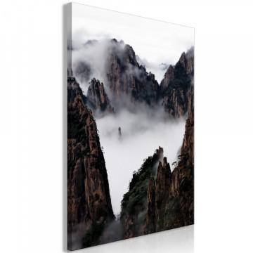 Tablou - Fog Over Huang Shan (1 Part) Vertical