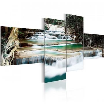 Tablou - Forest cascade