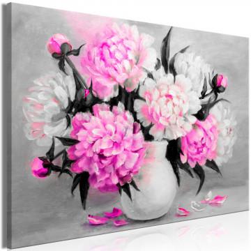 Tablou - Fragrant Colours (1 Part) Wide Pink
