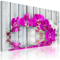 Tablou - harmony: orchid - Triptych