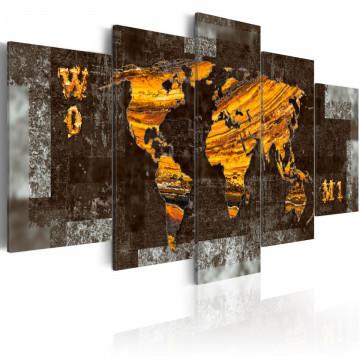Tablou - Hidden Treasure (World Map)