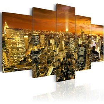 Tablou - New York: amber