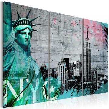 Tablou - NYC collage III