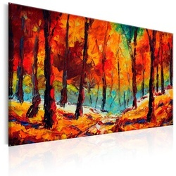 Tablou pictat manual - Artistic Autumn