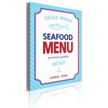 Tablou - Seafood menu