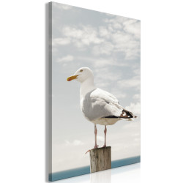 Tablou - Seagull (1 Part) Vertical