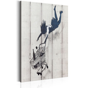 Tablou - Shop Til You Drop by Banksy