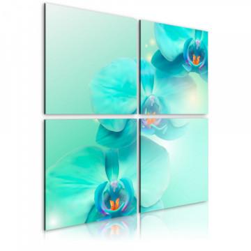 Tablou - Sky-blue orchids