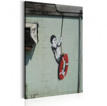Tablou - Swinger, New Orleans - Banksy