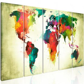 Tablou - Unusual World Map